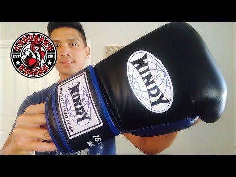 Windy Proline Boxing Gloves REVIEW-A GOOD BOXING GLOVE WITH EXTRA PADDING!