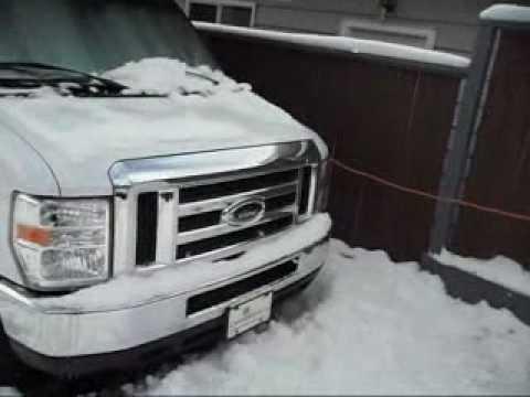 RV Motorhome Winter Use - Sunseeker