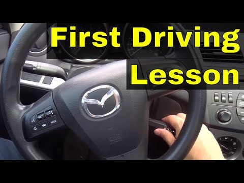 First Driving Lesson-Automatic Car