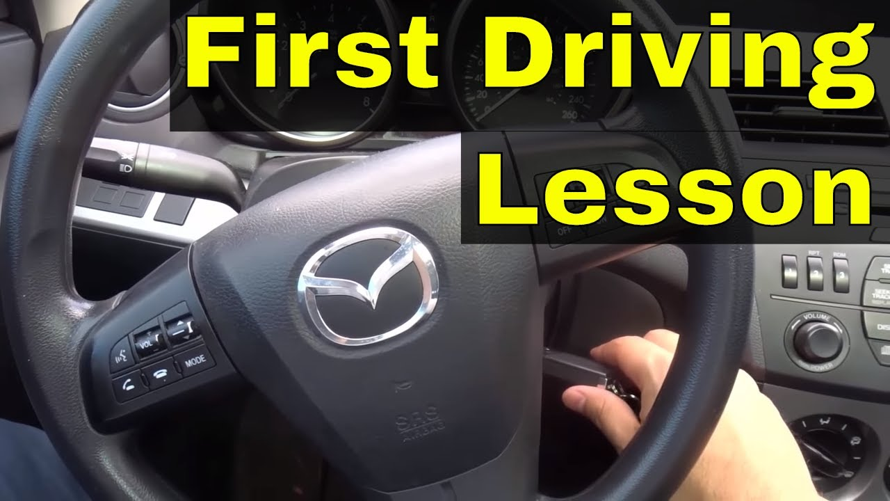 first driving lesson automatic