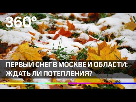 Первый снег в Москве и области: ждать ли потепления?