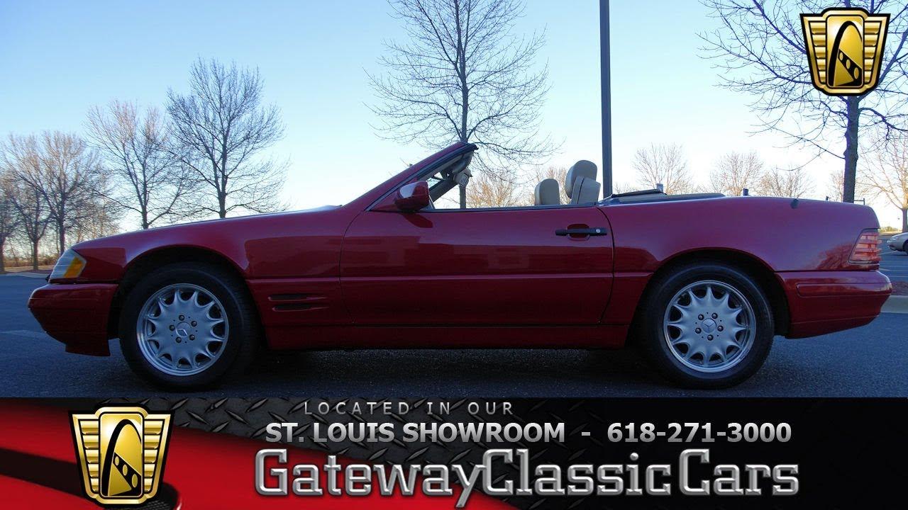 #7560 1998 Mercedes Benz SL500 - Gateway Classic Cars of ...