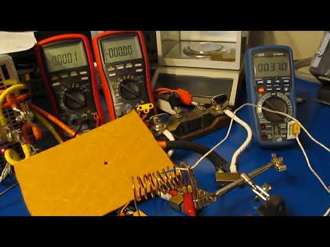 Energy Experiments w/ New Power Supply