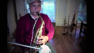 The Beatles - The Long and Winding Road - (saxophone cover)