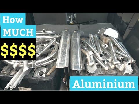 How much money for scrap Aluminium - trash to riches - Metal prices - scrapping - aluminium