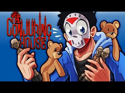 The Conjuring House - THE HOUSE IS A CREEPY MAZE OF DOOM! Ep.4