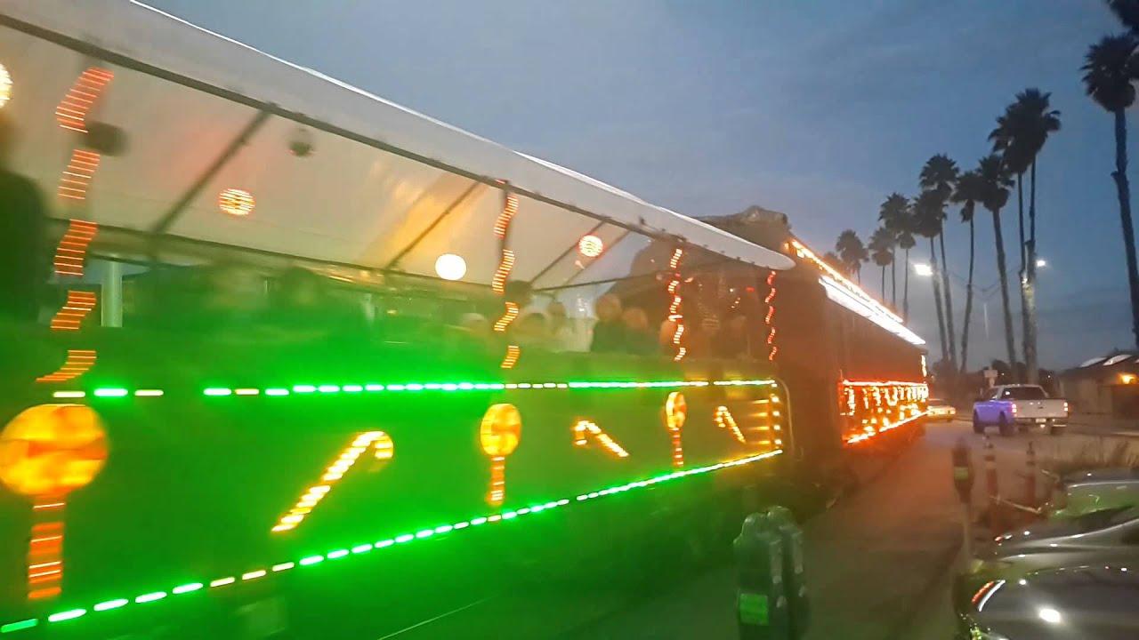 santa cruz christmas train beach to redwoods