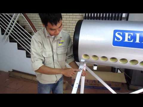 Hướng dẫn lắp đặt máy nước nóng năng lượng mặt trời