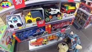 Влог Один день Влада Крейзи Шоу Идём в парикмахерскую Смотрим игрушки в магазине Распаковываем пикап