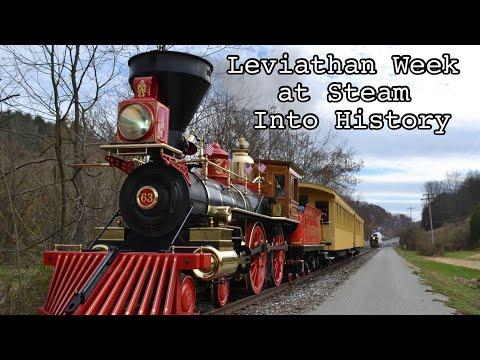 Leviathan Week At Steam Into History - Leviathan 63 and York 17