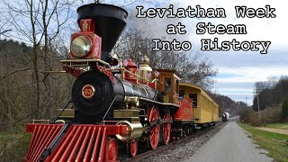 Leviathan Week At Steam Into History - Leviathan 63 and York 17