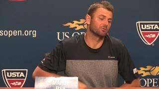 U.S. OPEN:  MARDY FISH INTERVIEW- 2015