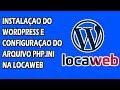 Instalação Wordpress + Configuração php.ini na Locaweb