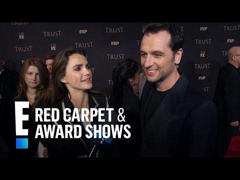 "Keri Russell & Matthew Rhys Talk ""The Americans"" Last Season   E! Red Carpet & Award Shows"