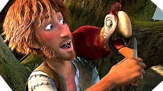 THE WILD LIFE Trailer (Robinson Crusoe Movie - 2016)