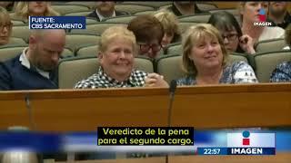 Jurado recomendó pena de muerte para un mexicano acusado del asesinato de dos policías