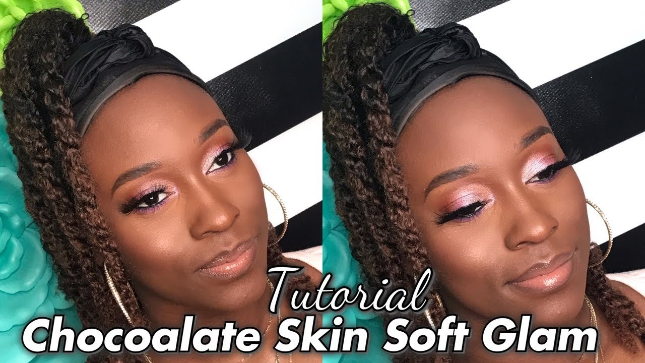 Chocolate Skin Tutorial: EASY & SIMPLE MAKE UP for Women Of Color