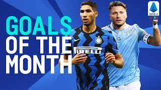 Hakimi and Immobile Score Sensational Goals! | Goals of The Month | December 2020 | Serie A TIM