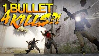 Video CS:GO - 1 BULLET, 4 KILLS?! download MP3, 3GP, MP4, WEBM, AVI, FLV Desember 2017