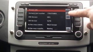 VW Radio RNS 510 Firmware Update 5274