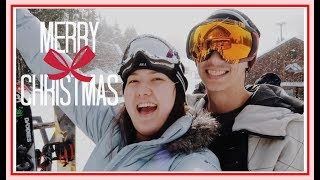 SNOWBOARDING ON CHRISTMAS DAY!! // Mt. Hood Skii Bowl