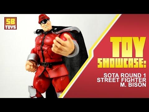 Sb Toys Showcase Sota Street Fighter Round 1 M Bison Action