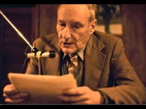 Class On Creative Reading - William S. Burroughs - 1/3