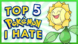 top 10 pokémon i don t like