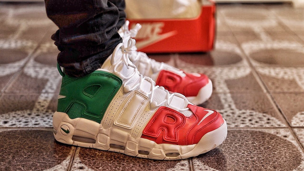 bc210a42f2 Nike Air More Uptempo EU City Pack Italy Colorway Sneaker Unboxing and  On-Foot Review