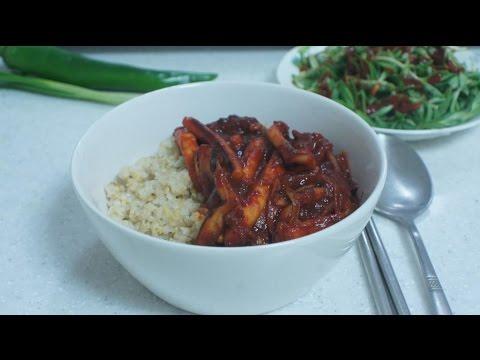 Оджинотоппаб - рис с кальмаром