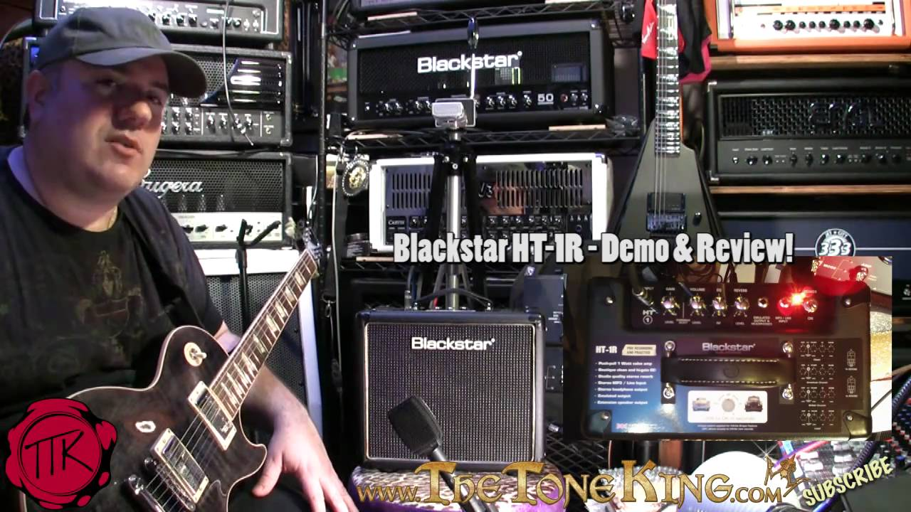 blackstar ht 1r 1w tube combo full demo review ht1 ht1r ht 1 youtube. Black Bedroom Furniture Sets. Home Design Ideas