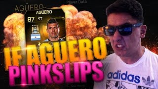 CRAZY IF AGUERO PINK SLIPS - FIFA 15