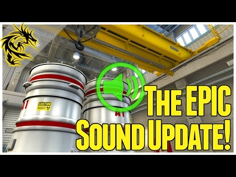 Sharper sound in CS:GO! - Nuke Changes, New sound system, and Open Group Lobbies!