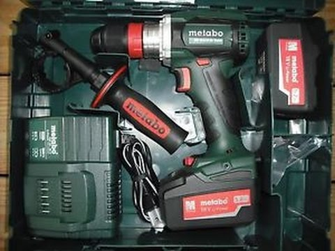 metabo bs 18 ltx bl impuls quick 18 volt youtube. Black Bedroom Furniture Sets. Home Design Ideas