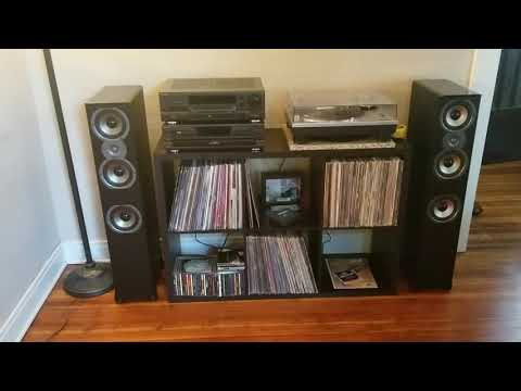 Polk Audio TSI 400 Speaker unboxing setup and review- Stereo System