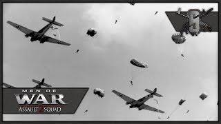 Massive German Airborne Invasion of Netherlands - Valour Mod - MoW:AS 2 Fallschirmjäger Paradrops
