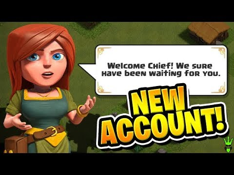 HOW TO MAKE A SECOND CLASH OF CLANS ACCOUNT! - How To Clash Ep.1 -