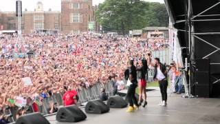 On the road with INNA # 142 Leeds - Party in the park