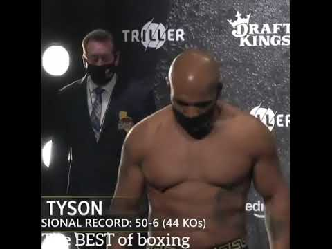 Download FACE TO FACE AND WEIGH IN MIKE TYSON AND ROY JONES JR