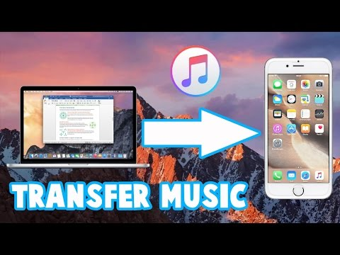 How To Transfer-Sync Music From iTunes To An // iPhone // iPad // iPod // iDevice