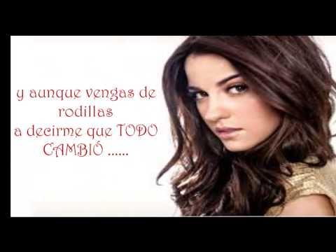 letra Tu y Yo Mayte Perroni