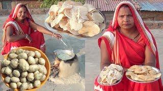 Holi special नमकिनी आलू के चिप्स बनाए 5 मिनट मे | Crispy Potato chips Recipe