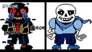 Error and Blueberry Sans Play Gravity.mp3