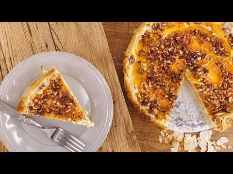 Butternut Squash, Pecan And Ricotta Cheese Tart