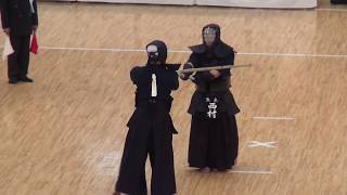 Nishimura vs Ando    Semi Final, 66th All Japan Kendo Championship 5