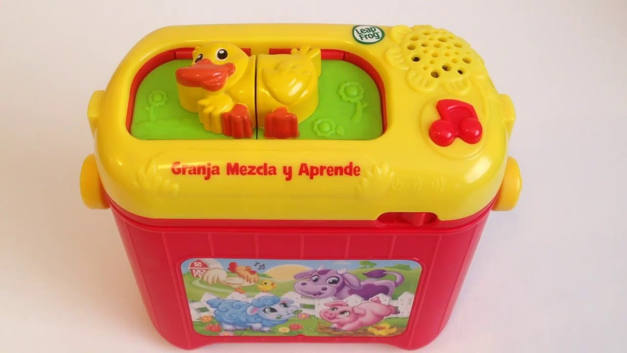 Learn About Farm Animals With Leap Frog Farm Mash Up Granja Mezcla Y Aprende Baby Playful Youtube