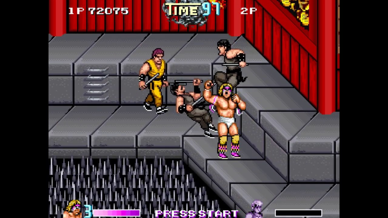 Double Dragon Reloaded Alternate - Ultimate Warrior speed run playthrough  no death