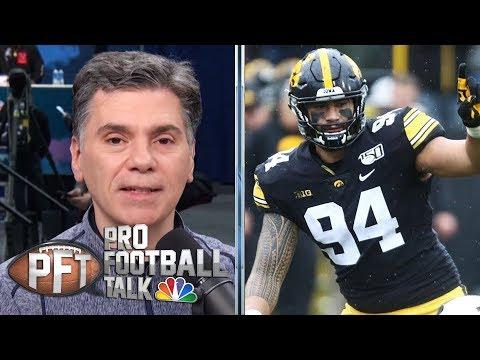 NFL Draft: How A.J. Epenesa fell in love with football immediately | Pro Football Talk | NBC Sports