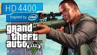 Grand Theft Auto V - Intel HD 4400 on Microsoft Surface Pro 2 - 4 GB RAM - Lowest Settings -  GTA 5