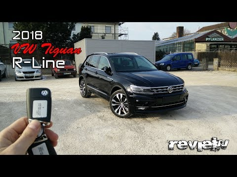 2019 VW TIGUAN R-Line Deep Black 2.0TSI